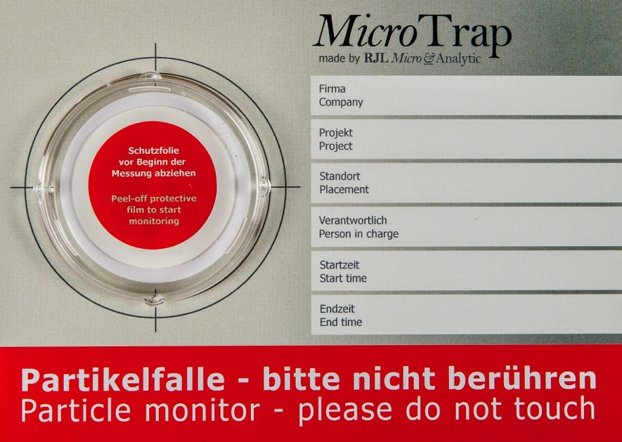 MicroTrap-Partikelfalle
