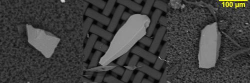 SEM-EDX-harte Restschmutzpartikel